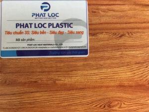 Tấm nhựa ốp tường vân gỗ PL 8640