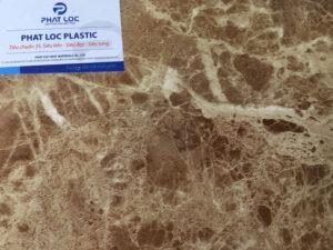 Tấm PVC vân đá PL-8612 (Kim cà phê)
