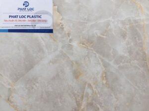 Tấm PVC vân đá PL-8613 (Vàng kem)