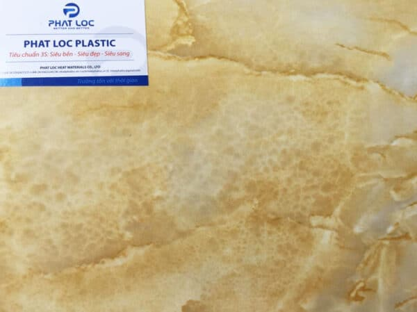Tấm PVC vân đá PL-8617 (Vân đá ngọc hoàng long)