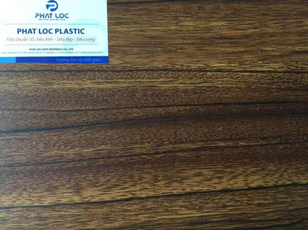 Tấm PVC vân gỗ PL 8931 (vân gỗ óc chó)