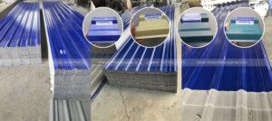 Tôn nhựa ASA/PVC 7 Sóng Vuông Phát Lộc