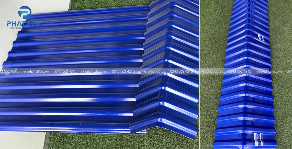 Úp nóc tôn nhựa pvc/asa Phát Lộc